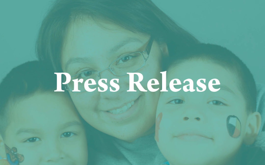 Joint Press Release from National Native Organizations on the Overwhelming Support for the Indian Child Welfare Act